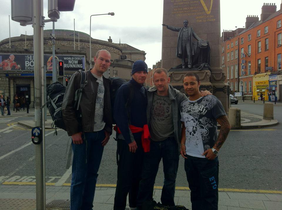 BBD Liverpool dojo visit Dublin Hombo Dojo