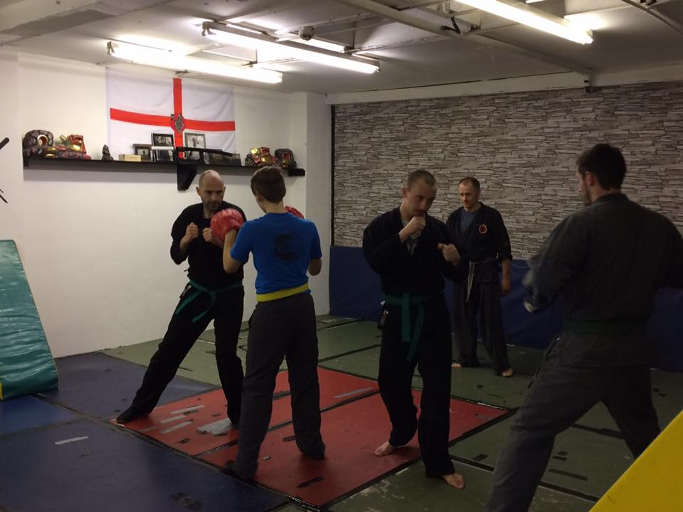 class pad work at the new dojo