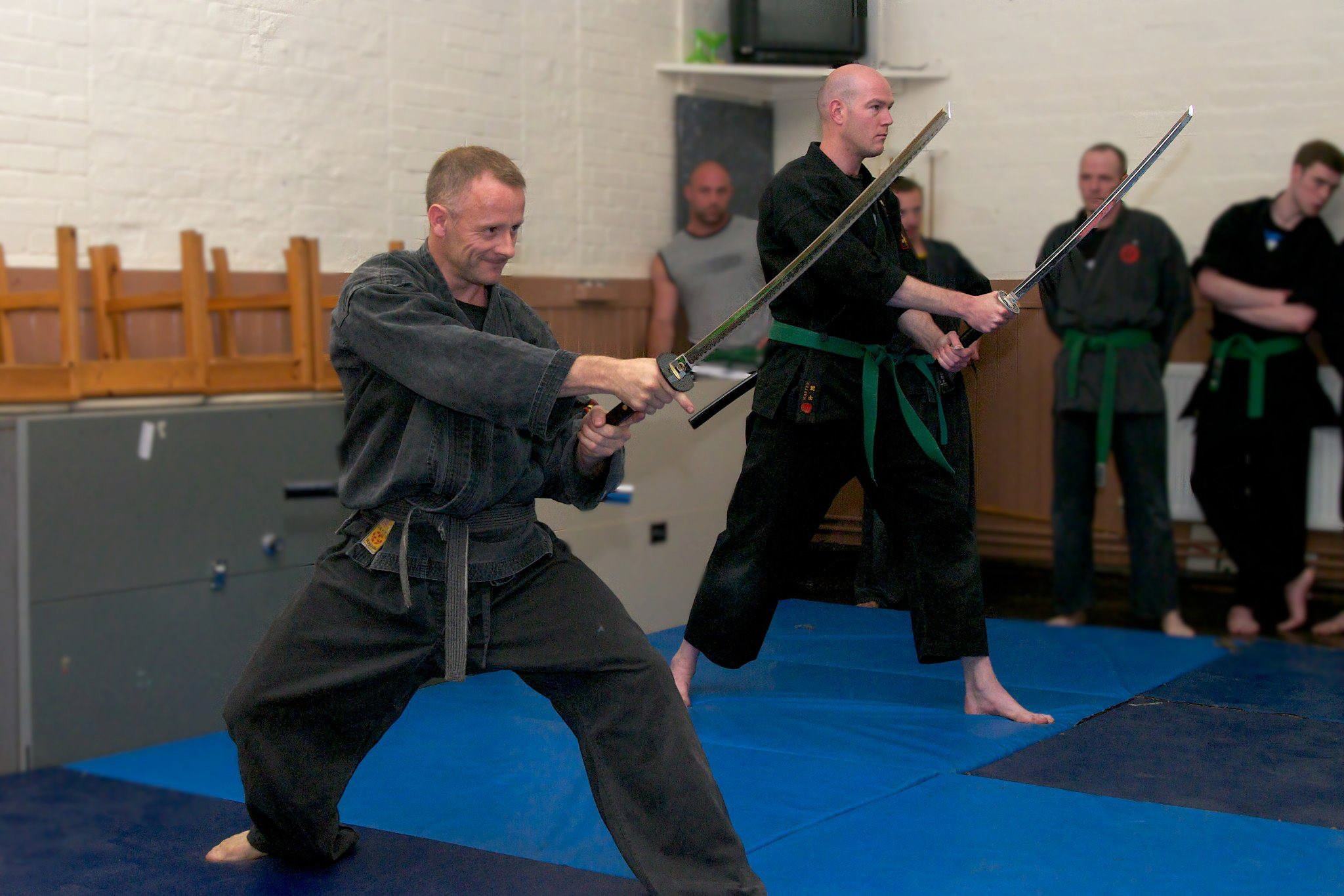 katana sword work